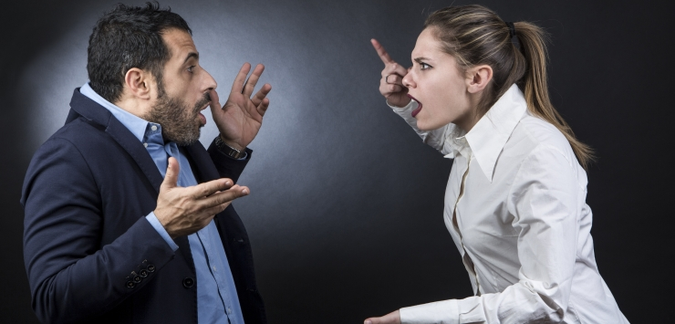 Argument Between Man and Woman
